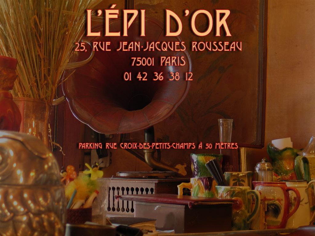 L EPI D OR Restaurant bistrot traditionnel 396499335c