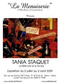 Tania staquet for La traversee du miroir
