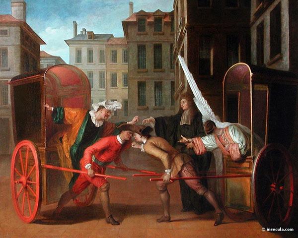Claude Gillot : les deux carrosses