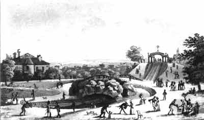 Les Jardins Tivoli Paris Meconnu
